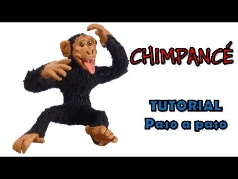 Como hacer un chimpance de Plastilina / How to make a chimp with Plasticine - YouTube