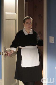 Maid Dorota in her Uniform- Gossip Girl TV Series