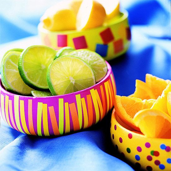Embellish an Ordinary Bowl... Cinco de Mayo??