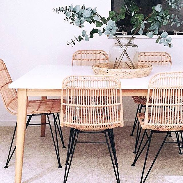 Our Kubu Chairs looking fab, styled by @inhouse_style