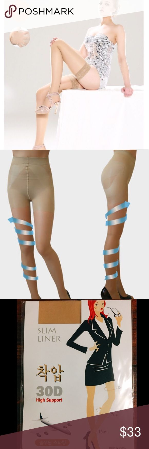 ideas about circulation socks stendhal new nude body shape compression pantyhose tights nwt