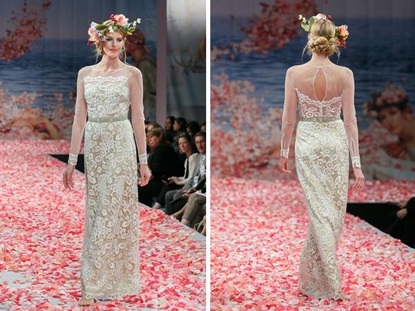коллекция свадебных платьев Claire Pettibone #bride #dress