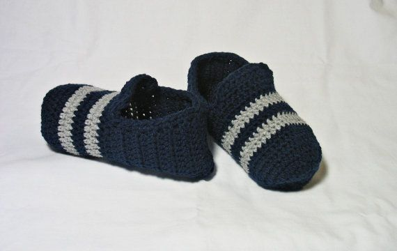 Mens Slippers Mens House Slippers Teen Boy by DeesCozyCreations