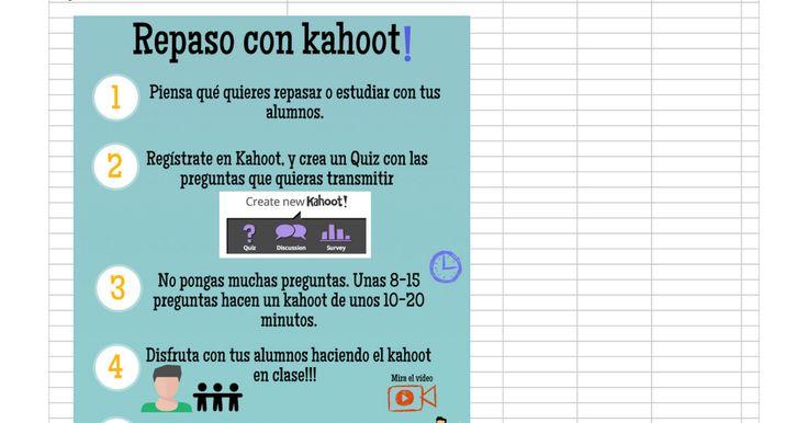 Introducción   Introducción, contacto:,@ juanpablodelmo  Tutorial de uso de kahoot I( 14 minutos), https:// www. youtube. com/ watch? v= v5ISiAKtpsY, jpsanchez@ tajamar,. es  Tutorial de uso de kahoot II( 4, 5 minutos), https:// www. youtube. com/ watch? v= lLJJdEUnNXY  Video ambiente: Repaso con...