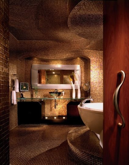 Sultry curves: Bathroom Design, Tile Bathrooms, Contemporary Bathrooms, Style, Dream, Space, Photo, Beautiful Bathrooms