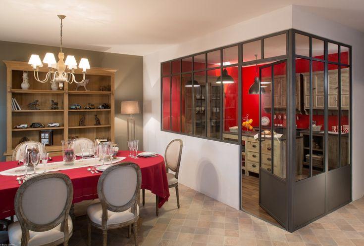 13 best Maison images on Pinterest Home ideas, Kitchen dining - Repeindre Une Cuisine En Chene Vernis
