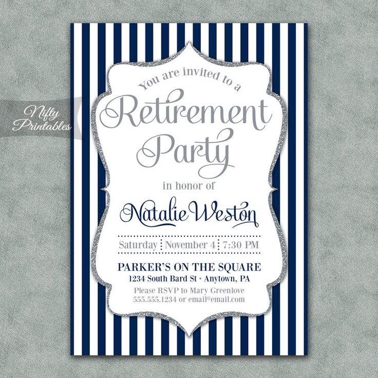 17 Best ideas about Retirement Invitations on Pinterest | Retirement parties, Retirement party ...