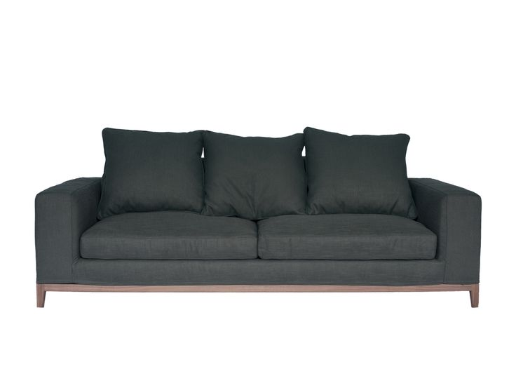 OSLO 3.5 Seater - Grey [Fine Weave]  Sofa:1105CD.3385-06