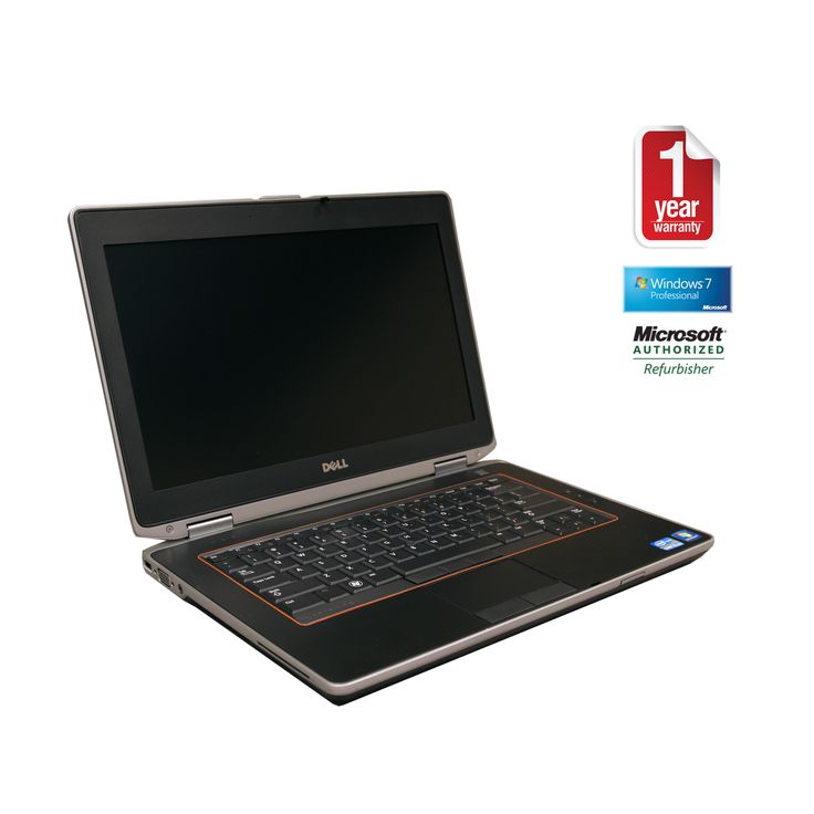 This Dell Latitude E6420 Notebook PC comes with an Intel Core i7 2.7GHz processor, 4096MB DDR3 memory, 256GB SSD, 14-inch WXGA, Wi-Fi, DVD-RW Optical Drive, HDMI, and the Microsoft Windows 7 Professional (64-bit) Operating System.