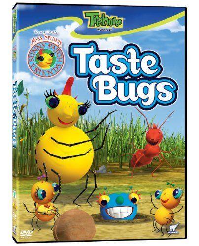 Taste Bugs DVD ~ Miss Spider, http://www.amazon.com/dp/B00192YKHW/ref=cm_sw_r_pi_dp_A1hesb0CJ1Q2A
