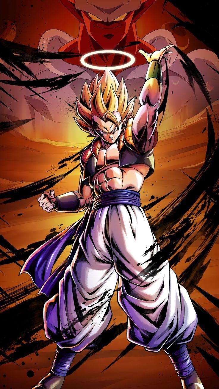 Gogeta SSJ Dragon Ball Legends Anime dragon ball super