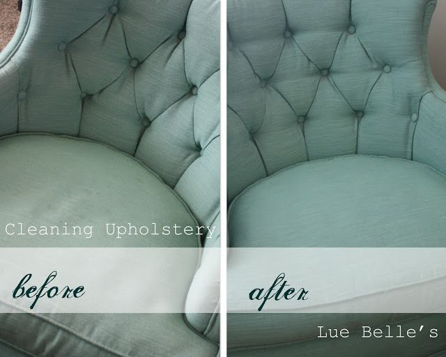 Lue Belle's: Cleaning Upholstery (and my awesome thrift find!)