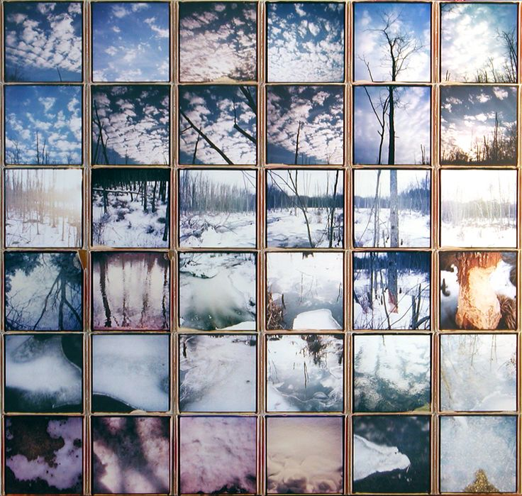 Patrick Winfield instant film composite