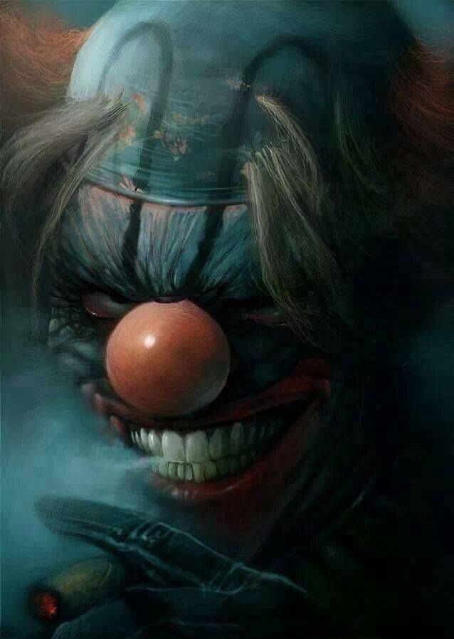 1000 Ideias Sobre Evil Clown Tattoos No Pinterest  Tatuagem De