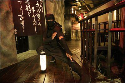 New York, NY - Ninja New York, ninja-themed restaurant.