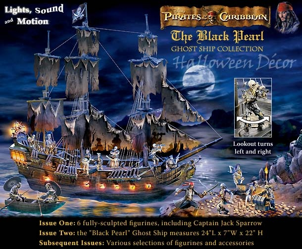 pirates of the caribbean ghost ship collection - Lego Halloween Train