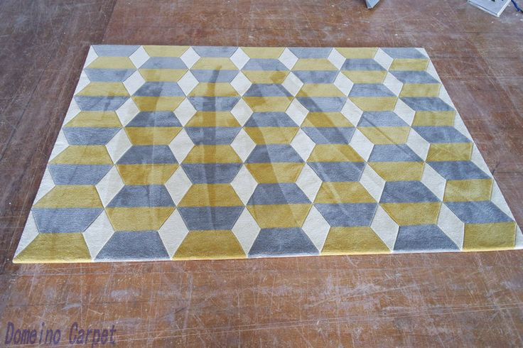 yellow rugs with acrylic fiber