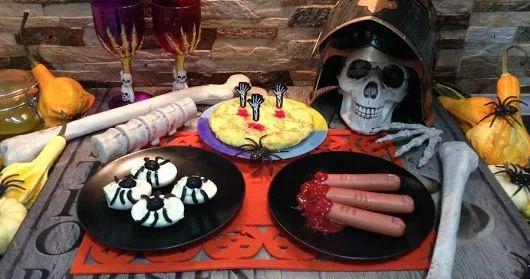 3 recetas ESPELUZNANTES para una cena de HALLOWEEN terrorífica