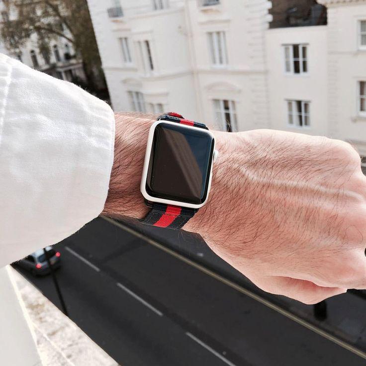 Venda de reloj de Apple Apple reloj Nylon correa Apple por Nyloon