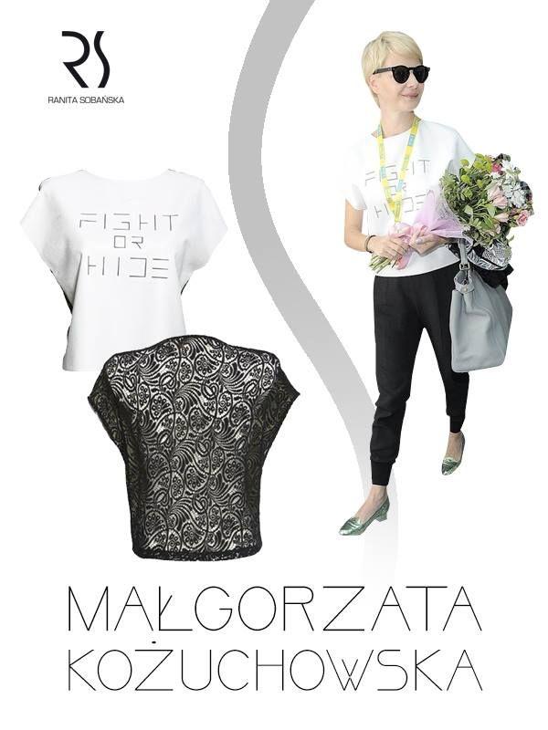 Małgorzata Kożuchowska i top RS #rs
