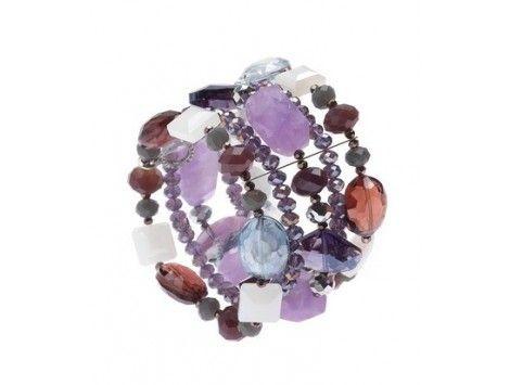 multicolor elastic bracelet Ottaviani Bijoux