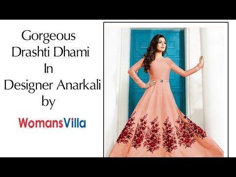 Drashti Dhami Latest Anarkali Suits Collection 2017