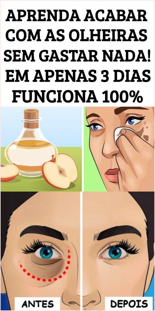 Conheça a solução doméstica para acabar com as olheiras em pouco tempo    – Moda masculina