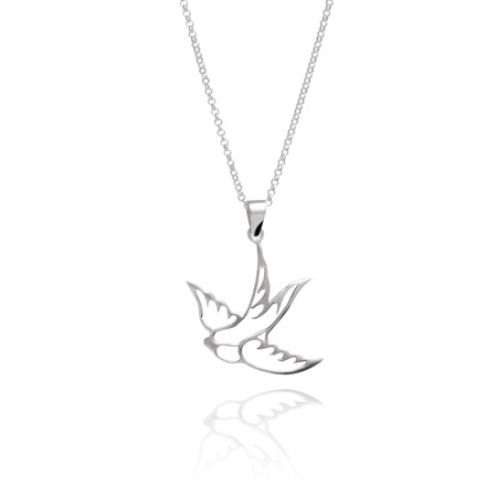 Swallow Tattoo Necklace 37