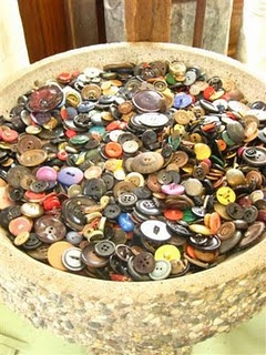 Vintage Buttons - wonderful memories of stringing buttons at my grandma's house