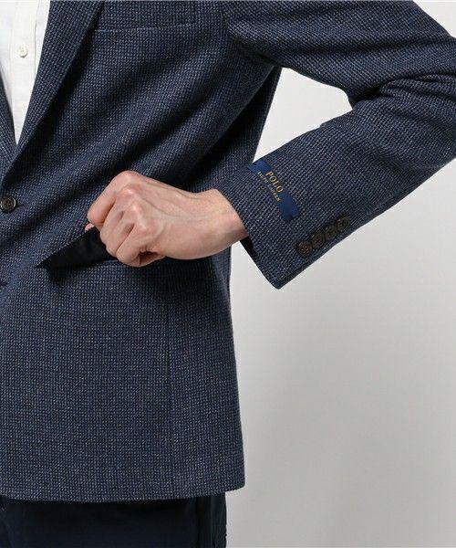 POLO MEN'S(ポロ メンズ)のPolo ティックウィーブ スポーツ コート(スーツジャケット)|詳細画像