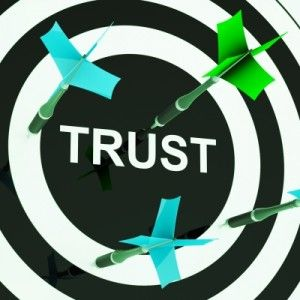 How can you build trust within the sharing economy?