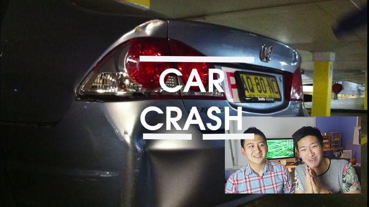 ahh shit i crashed my car