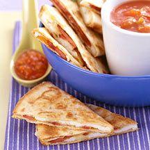 WeightWatchers.com: Weight Watchers Recipe - Cheesy Breakfast Quesadillas