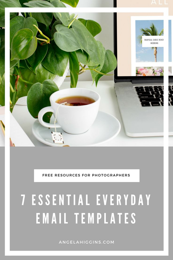 7 essential email templates for photographers, business tips