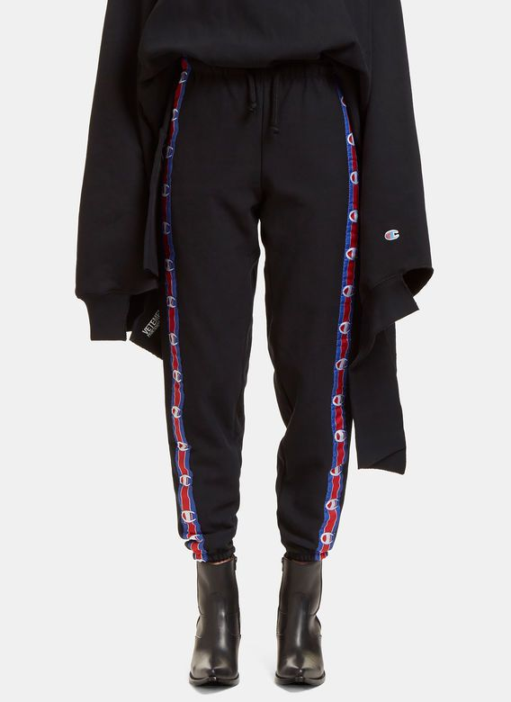 Women's Pants - Clothing | Discover Now LN-CC - Champion Logo Taped Track Pants