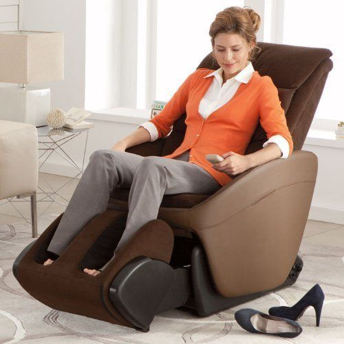 A massage chair is a chair designed for massages. Traditional chairs allow easy access to the head, shoulders, and back of a massage recipient, while robotic massage chairs use electronic vibrators and motors to provide a massage.