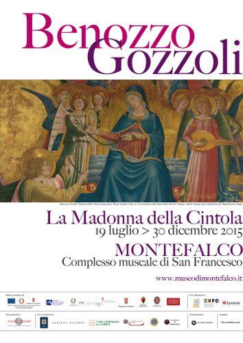 La Madonna della Cintola di Benozzo Gozzoli torna a Montefalco dal 19 luglio al 30 dicembre 2015