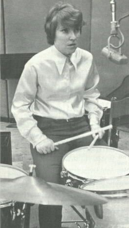 Maureen Tucker - drummer for legendary sixties art house rockers, the Velvet Underground.