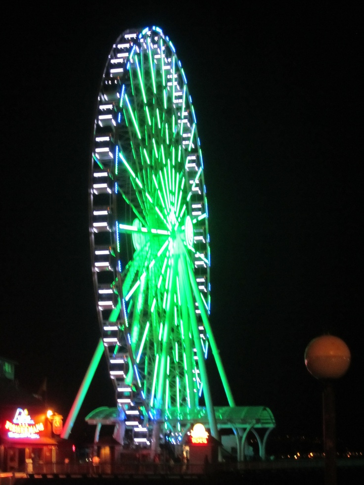The Great Wheel Of Seattle Washington - The most awesome ferris wheel ride ever