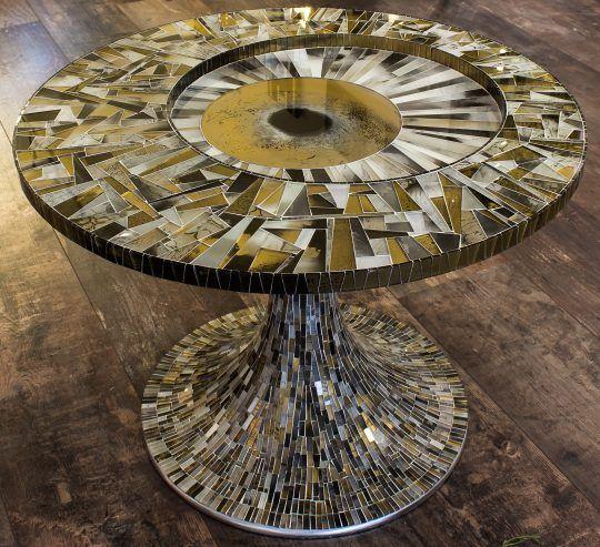 Столы – Мастерская 42 стеклянная Мозаика