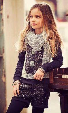 #moda #ninas #invierno #outfit