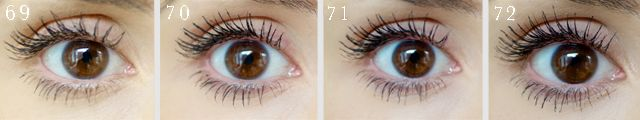 100 mascaras tested on ONE eye: picture reviews