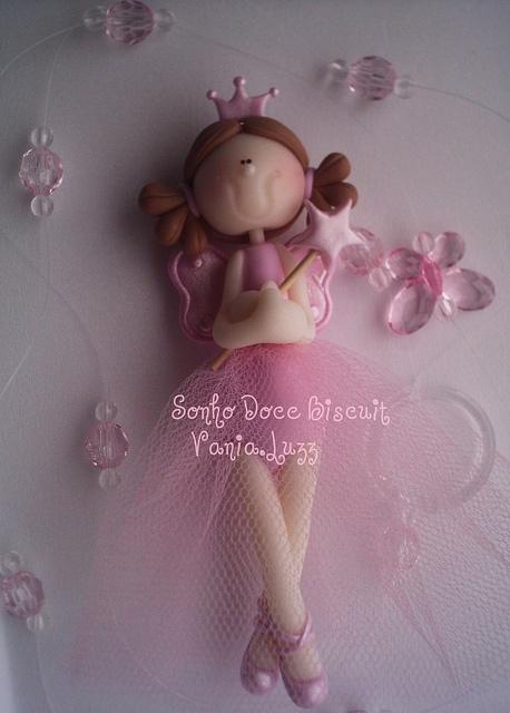 Móbile Princesa fada by Sonho Doce Biscuit *Vania.Luzz*, via Flickr