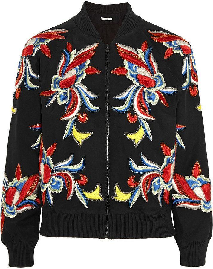 Ideas about silk bomber jacket on pinterest