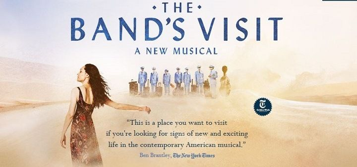 The Band's Visit is a New Broadway Musical based on a film by Eran Kollirin The band takes a bus to Beit Hatikva, middle of the Negev Desert