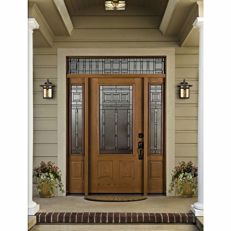 12 Beautiful Craftsman Front Door Designs: 136 Best Images About Curb Appeal On Pinterest