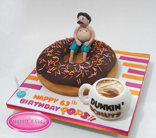 dunkin dounts cake