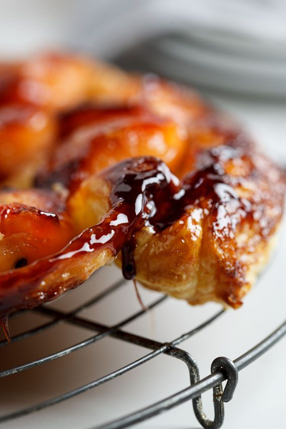 Quince tarte tatin with chantilly cream | simply-delicious.co.za #recipe #baking #French