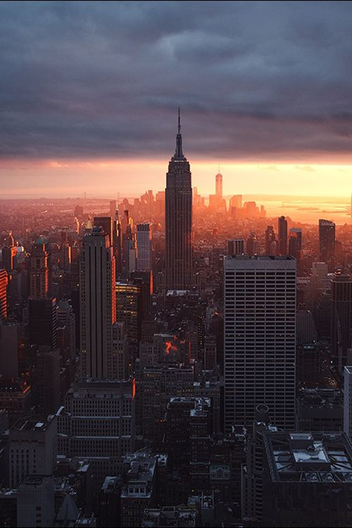 "earthyday: "" New York City by Renaud Julian """