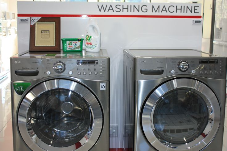 Eco-Friendly Laundry Appliances available at LG Lifestyle in Willowbridge